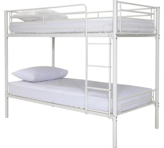Buy Argos Home Samuel Shorty Bunk Bed Frame White Kids Beds Argos