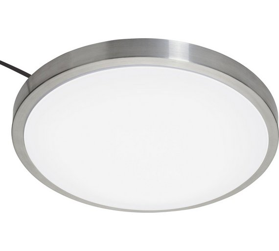 Buy Collection Lido Led Bathroom Flush Ceiling Fitting Chrome At