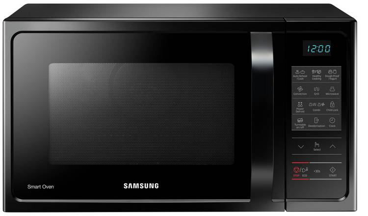 Samsung 900W 28L Combination Microwave MC28H5013AK - Black