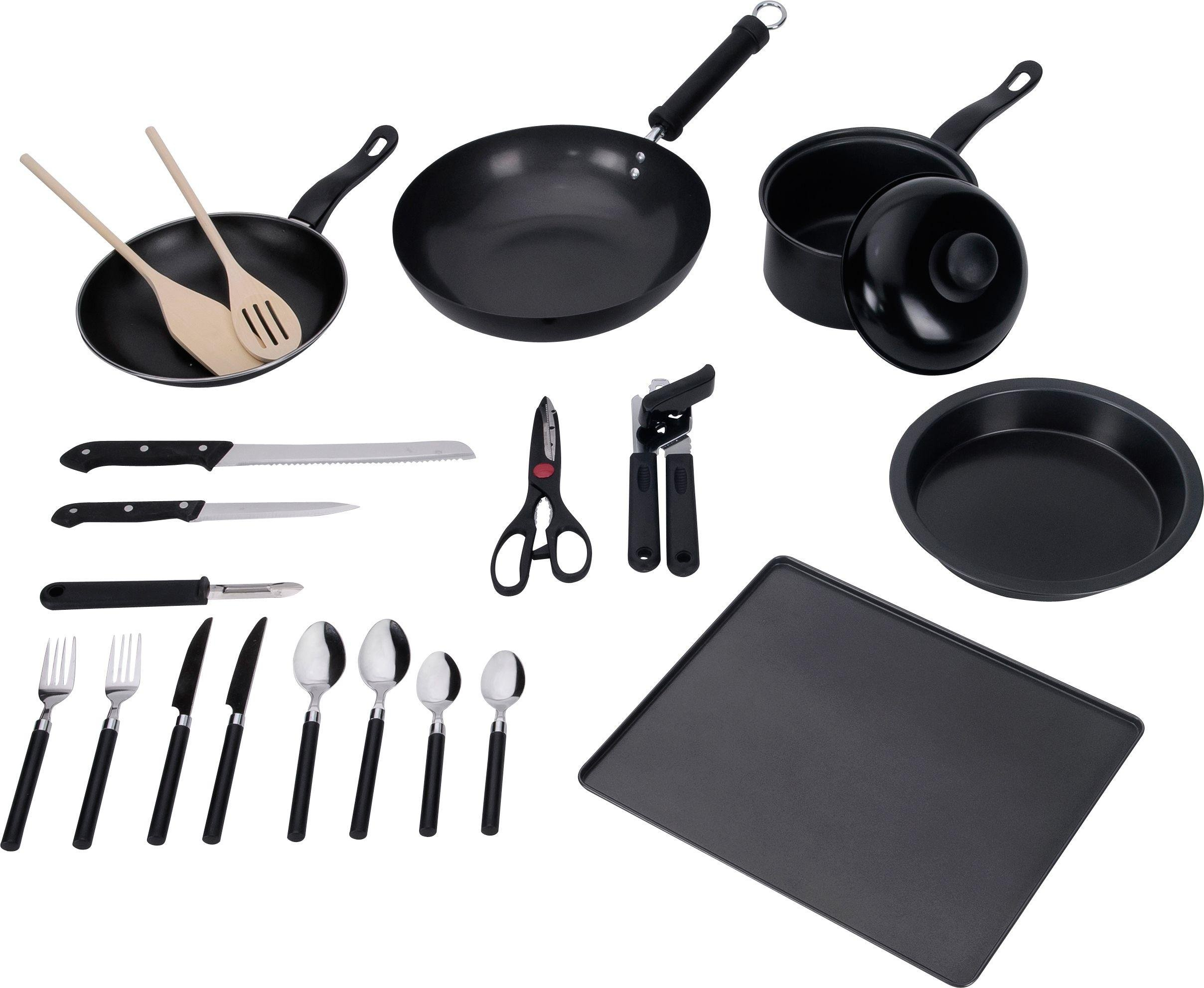 Image of Simple Value 20 Piece Kitchen Essentials Starter Set