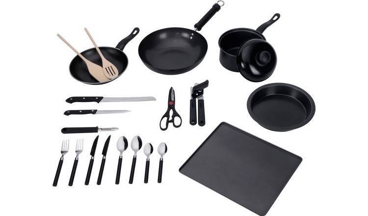 Buy Argos Home 20 Piece Kitchen Essentials Starter Set Starter