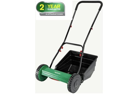 Image of the Qualcast Rhino Cylinder Mower.