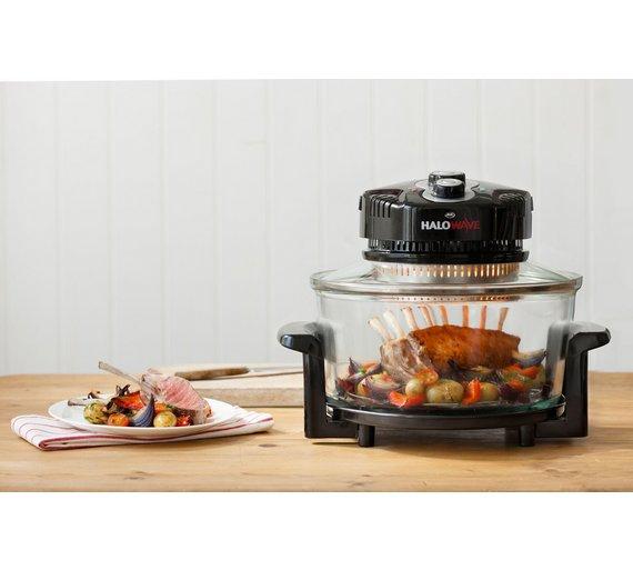 buy jml halowave halogen oven black at. Black Bedroom Furniture Sets. Home Design Ideas