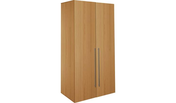Habitat Atlas 2 Door Tall Wardrobe - Oak Effect