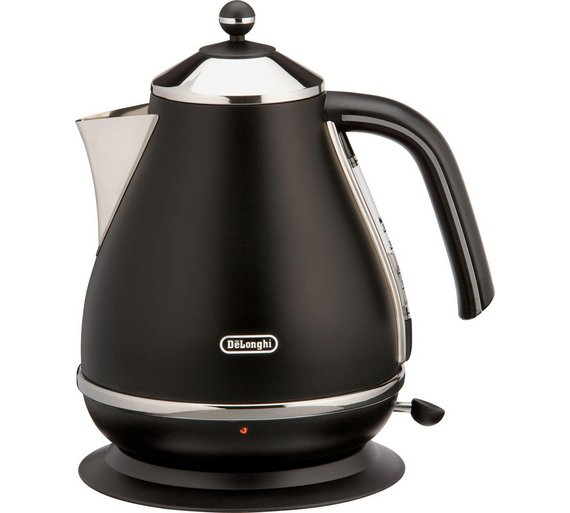buy de 39 longhi micalite black kettle at your. Black Bedroom Furniture Sets. Home Design Ideas