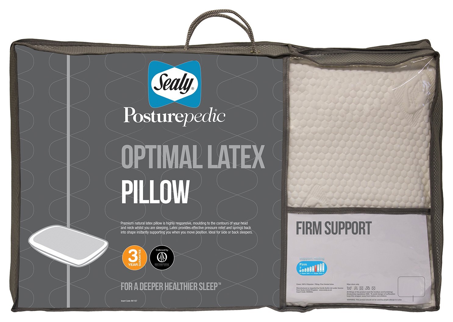 Sealy Posturepedic Optimal Latex Pillow