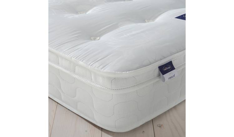 Silentnight Miracoil Travis Tufted Ortho Sm Double Mattress
