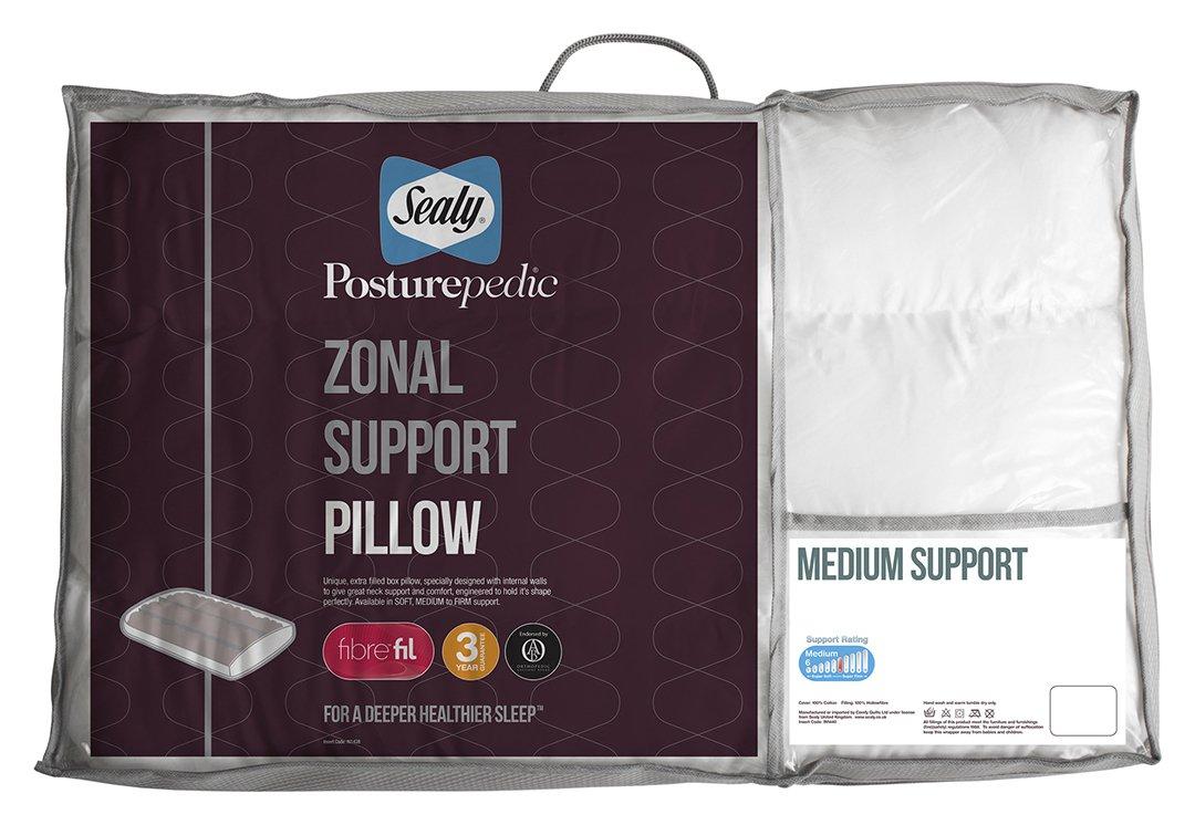 sealy  posturepedic zonal pillow  medium
