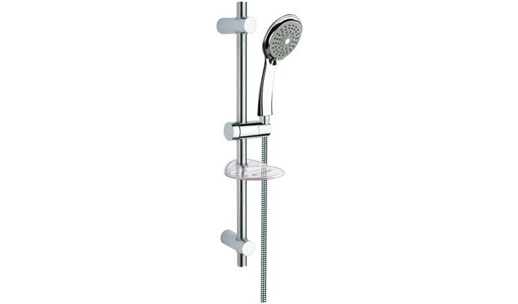 Argos Home 3 Function Shower Head and Kit - Chrome