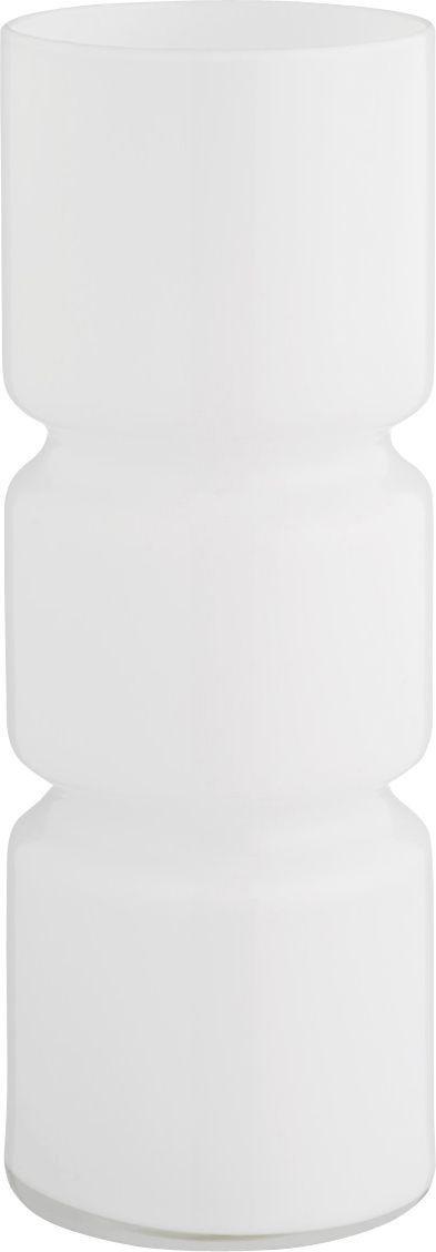 Habitat Fitz Glass Table Lamp - White