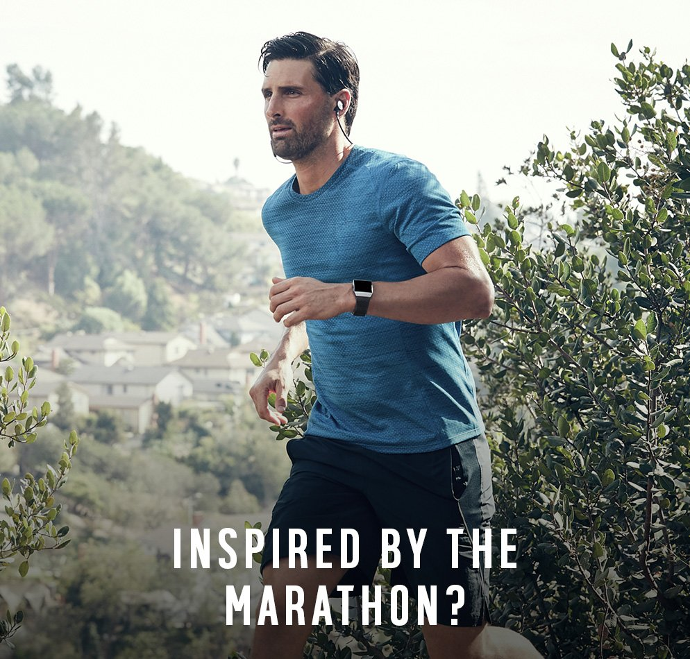 Inspired by the marathon?