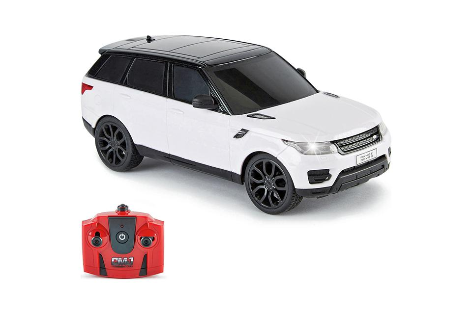 Range Rover 1:24 Radio Controlled Sports Car - White.