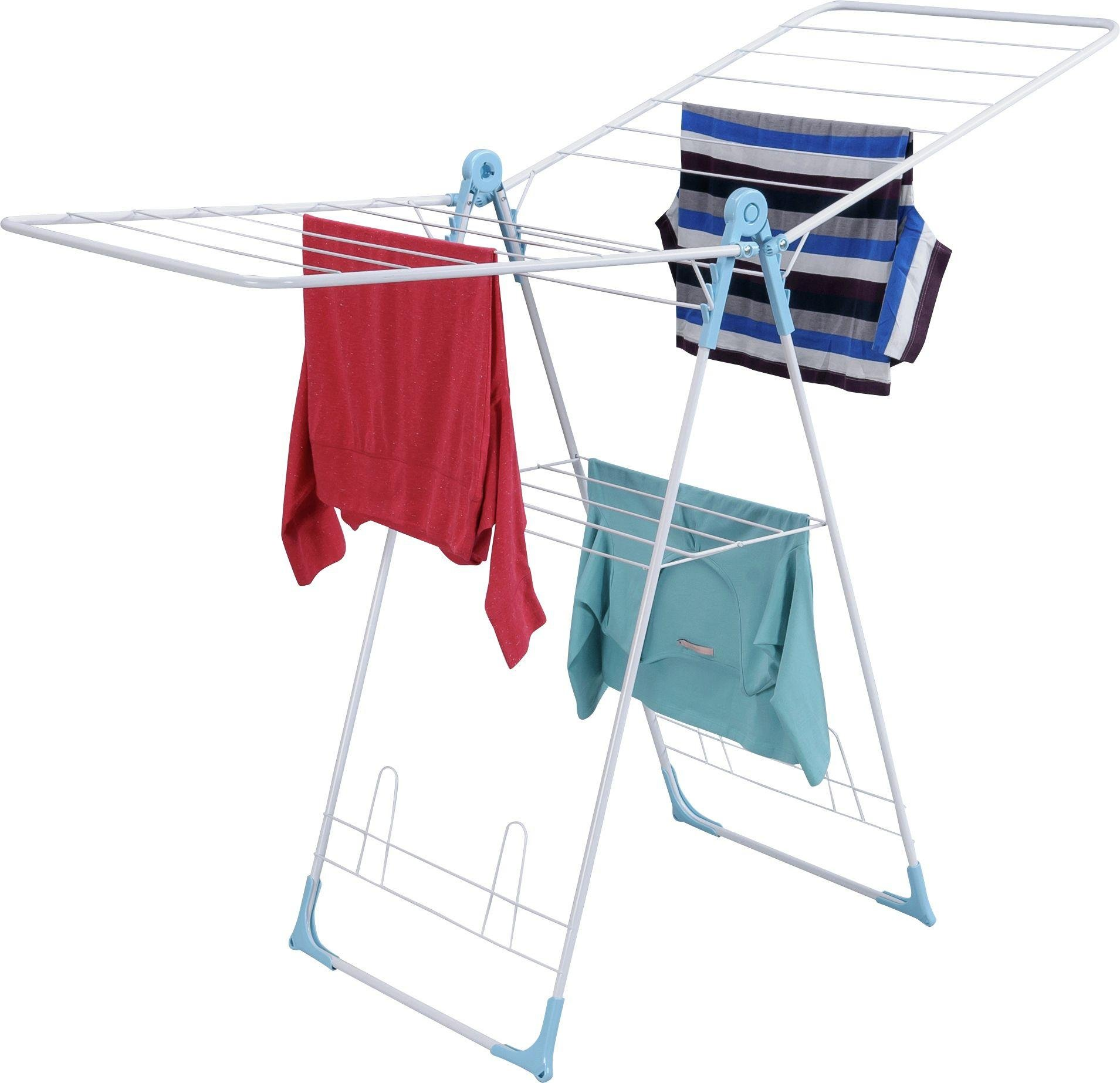 home cross wing 12m indoor clothes airer. Black Bedroom Furniture Sets. Home Design Ideas