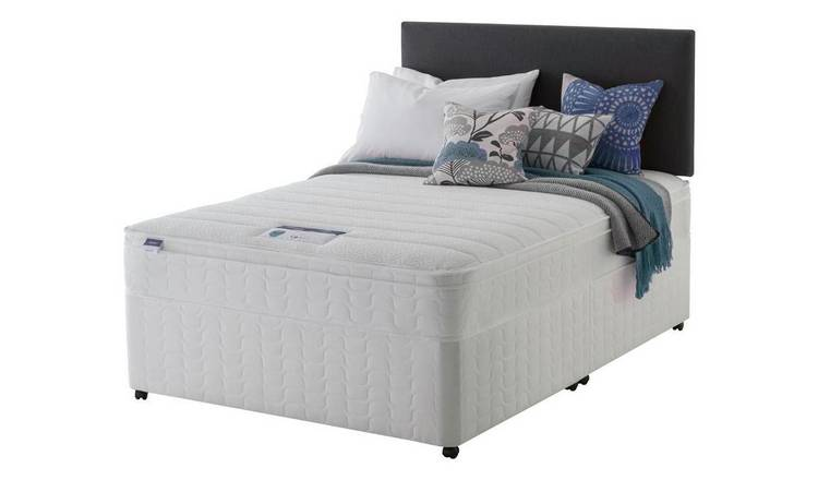 Silentnight Travis Memory Cushiontop Divan -  Small