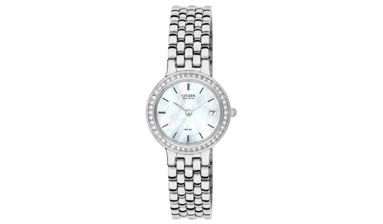 Citizen Ladies Eco-Drive Swarovski Crystal Bracelet Watch
