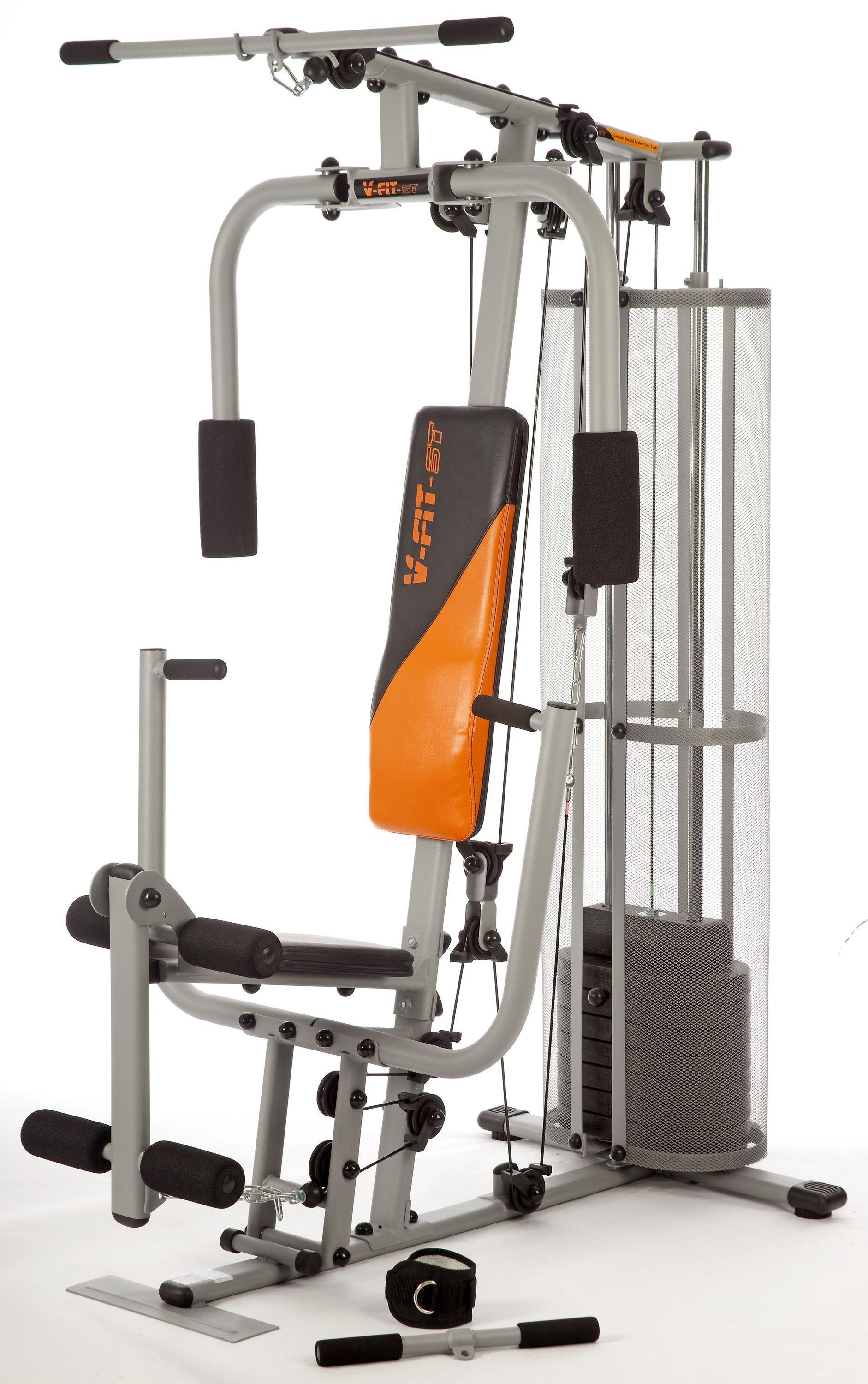 V fit cug herculean compact upright home gym
