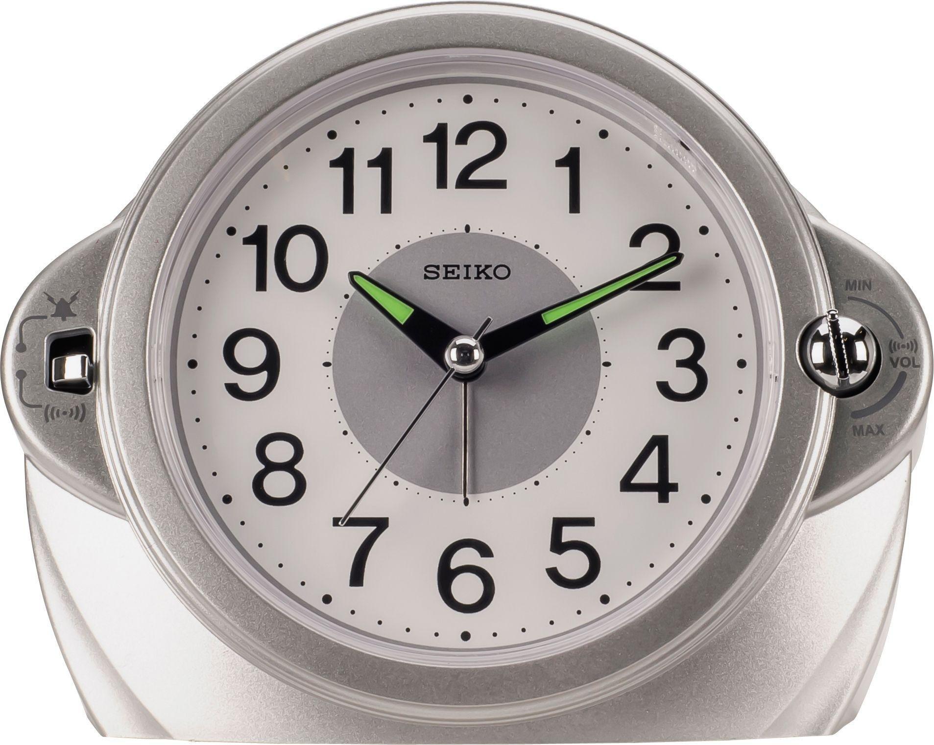 Seiko Volume Control Sweeper Alarm Clock