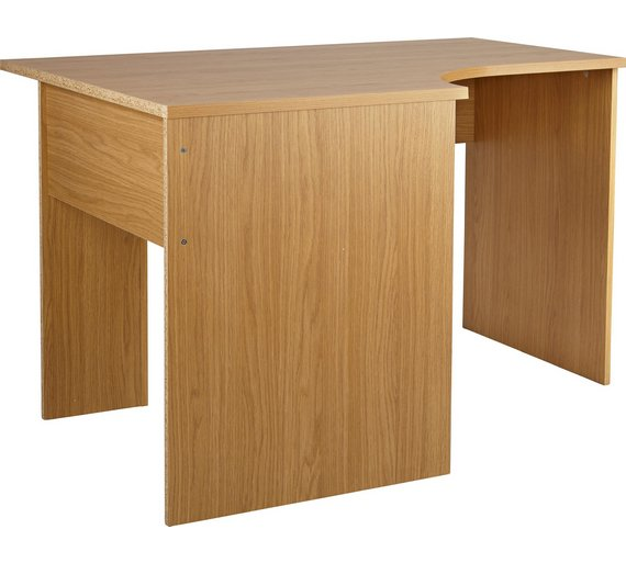 Buy HOME Walton Corner Office Desk - Oak Effect at Argos.co.uk ...