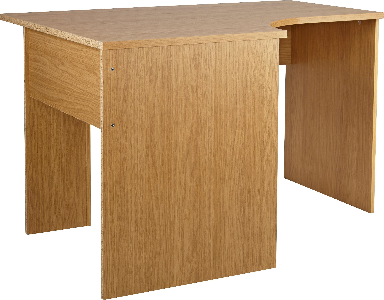 HOME Walton Corner Office Desk   Oak Effect