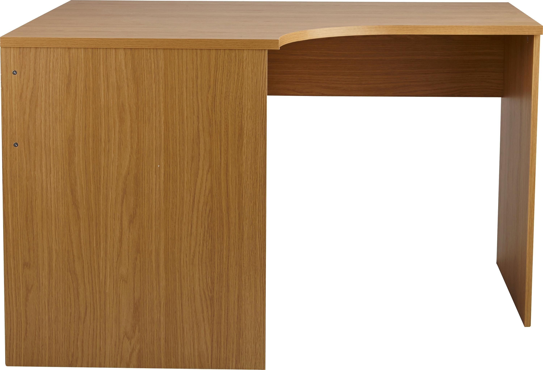 buy home walton corner office desk - oak effect at argos.co.uk