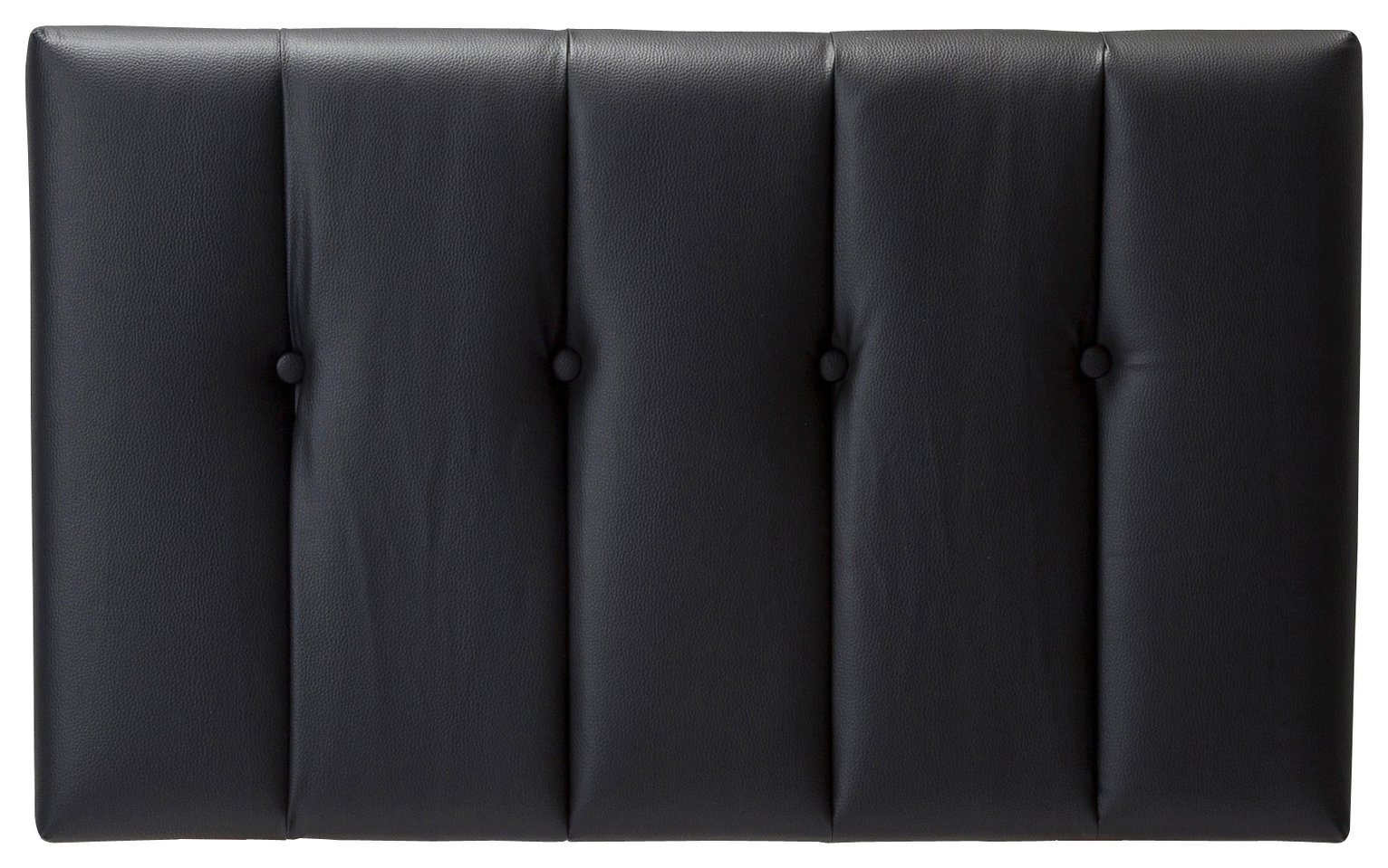 Rushden Single Headboard - Black