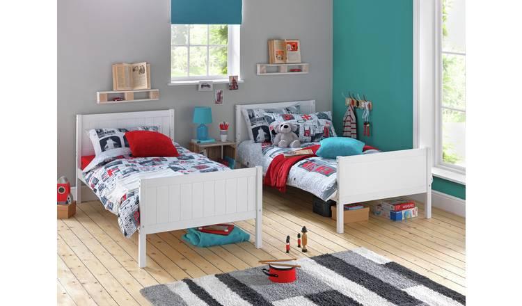 Argos Home Detachable Bunk Bed Frame - White 11