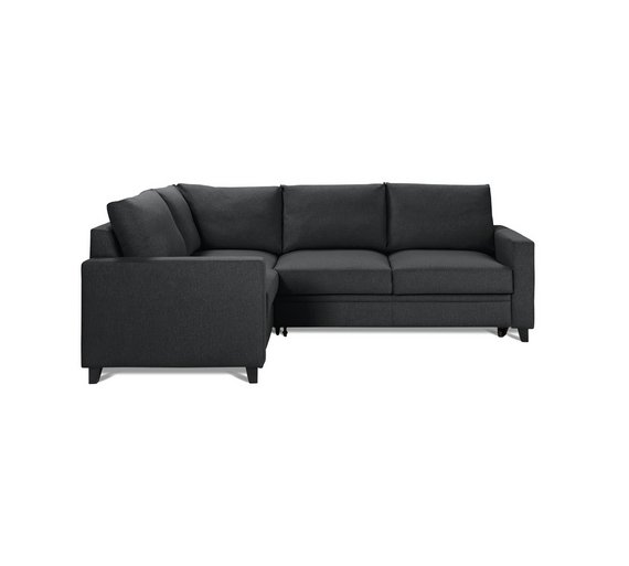 Argos corner sofa bed charcoal for Argos chaise sofa bed