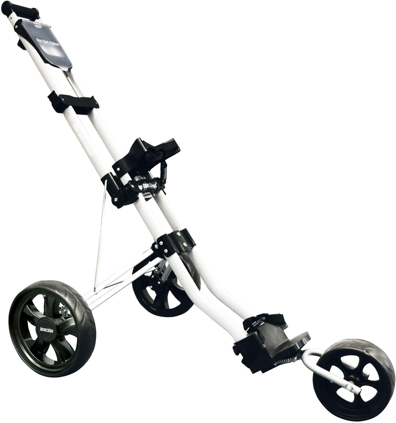 Longridge 3 Wheel Duo Cart Cruiser Golf Trolley - Silver.