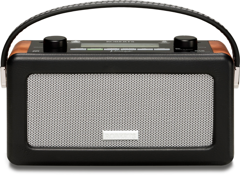 Roberts - Vintage DAB/FM RDS Radio - Black