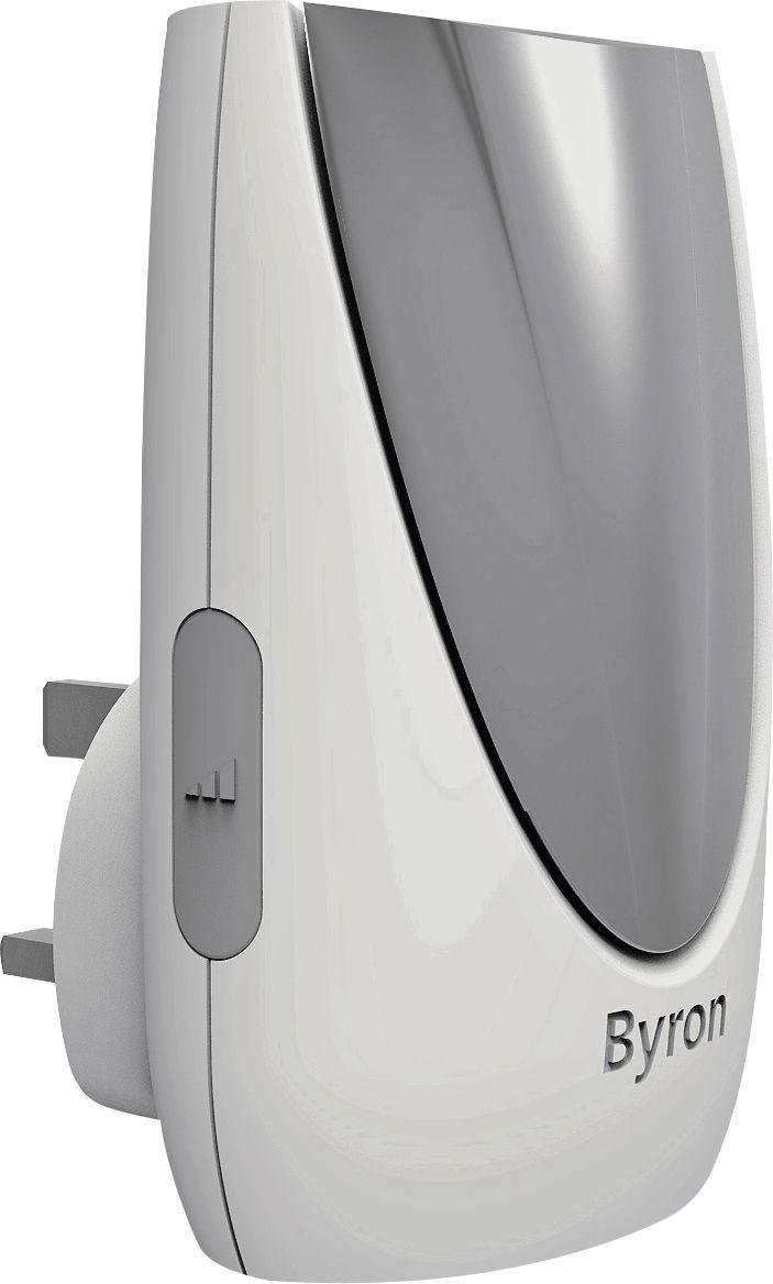 Image of Byron White 100m Plug-in Wireless Doorbell Kit