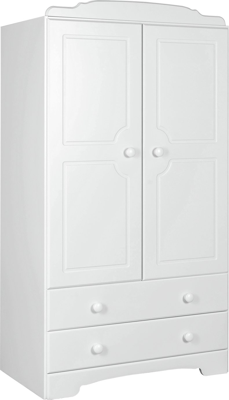 Argos Home Nordic 2 Door 2 Drawer Short Wardrobe