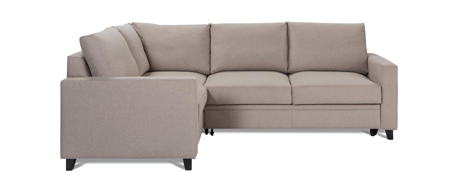 Buy Hygena Seattle Left Hand Corner Sofa Bed Natural at Argos