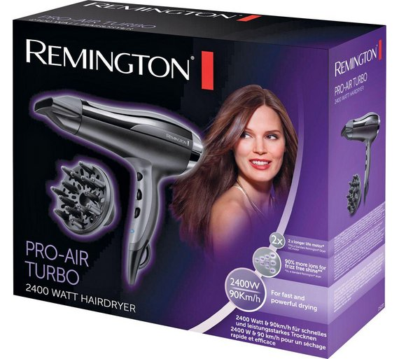 Remington hair dryer argos
