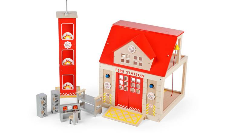 Tidlo Fire Station Set.