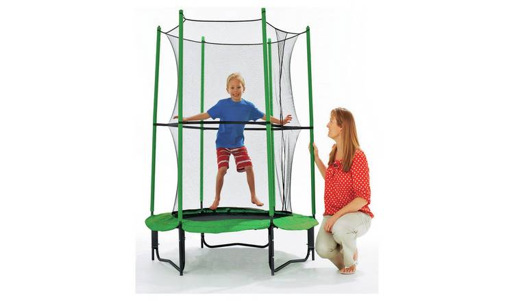 Chad Valley My First 4ft Outdoor Kids Trampoline & Enclosure