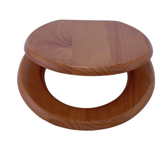 New The Collection At Solid Wood Slow Close Toilet Seat