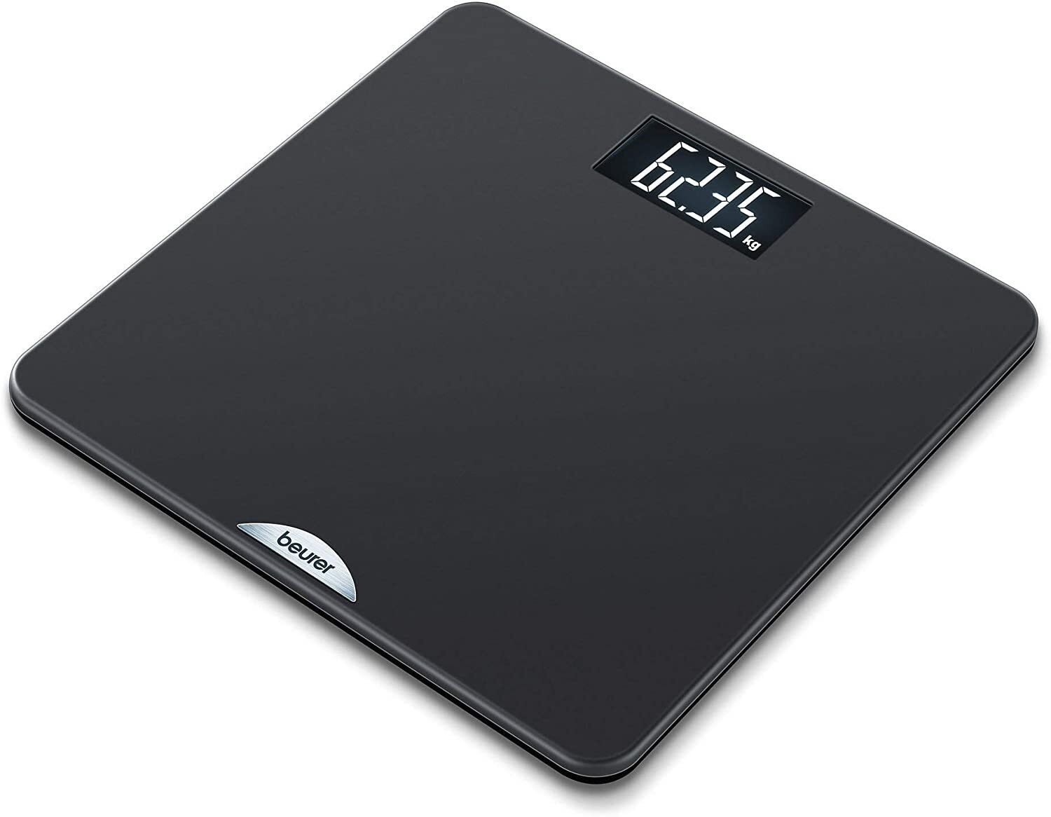 Beurer PS240 Personal Non Slip Bathroom Scale - Black