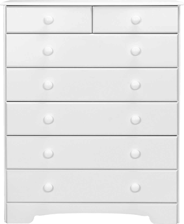 Argos Home Nordic 5+2 Drawer Chest - Soft White