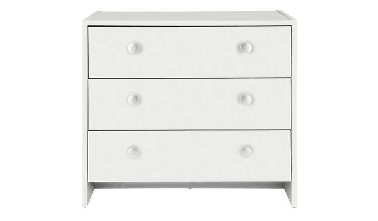 Argos Home Seville 3 Drawer Chest - White