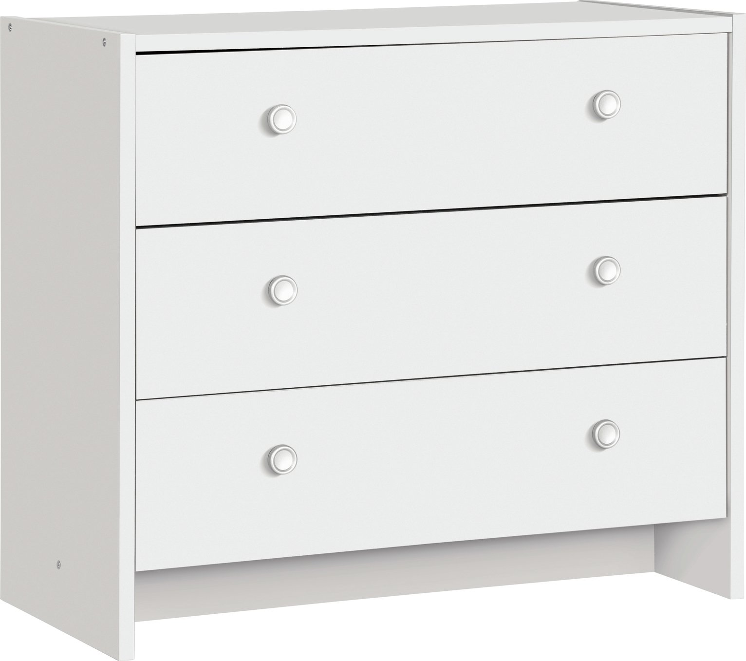 Buy Argos Home Seville 3 Drawer Chest White Chest Of Drawers