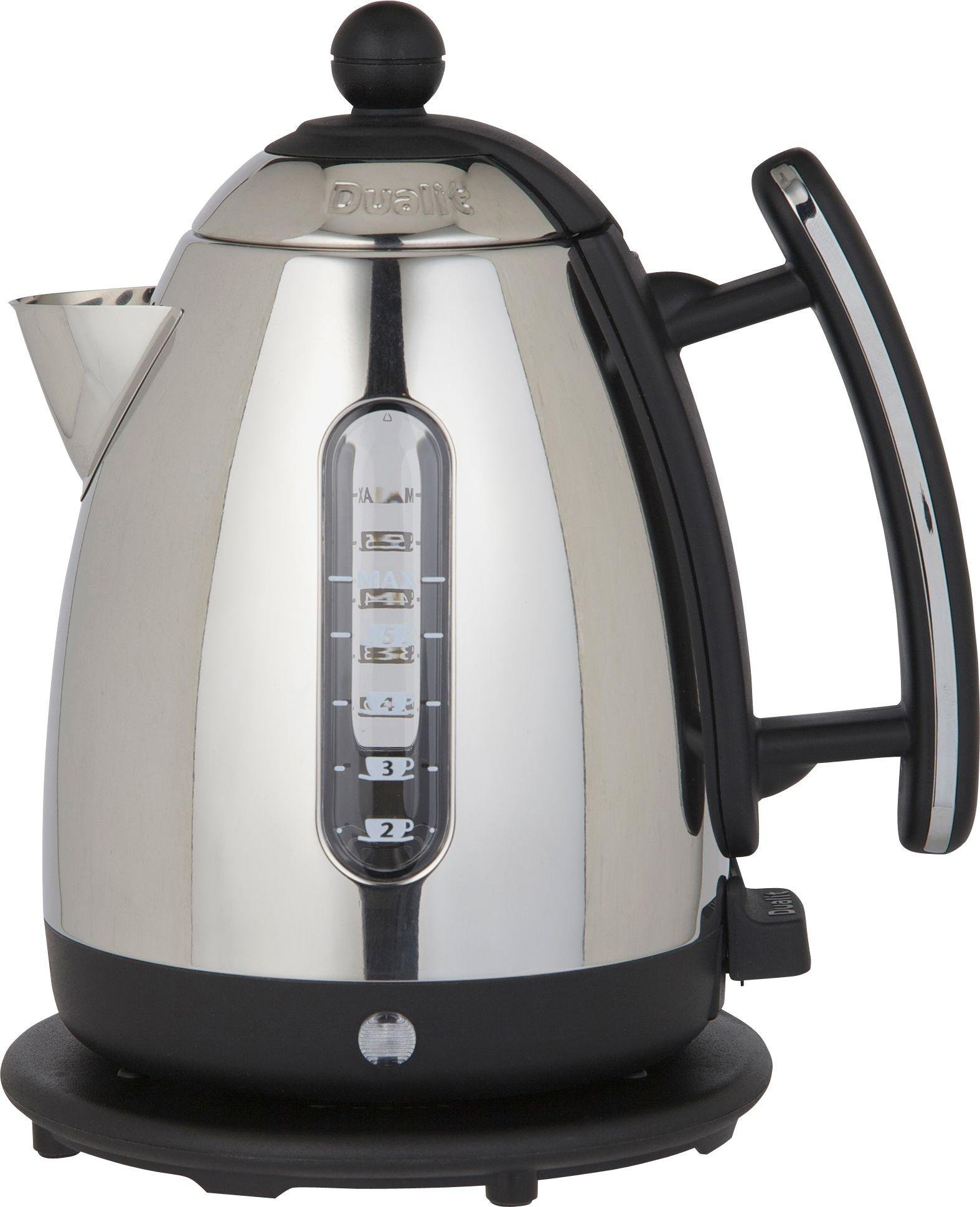 Image of Dualit - Kettle - 72400 JKT3 Stainless Steel And Black Jug