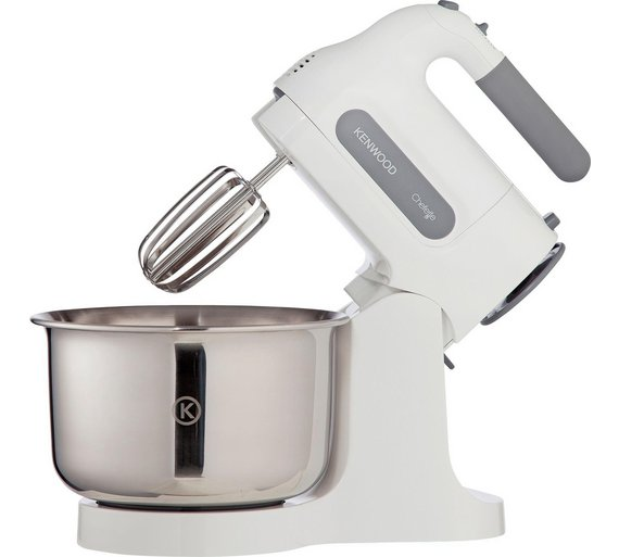 buy kenwood hm680 chefette hand mixer with stand white. Black Bedroom Furniture Sets. Home Design Ideas