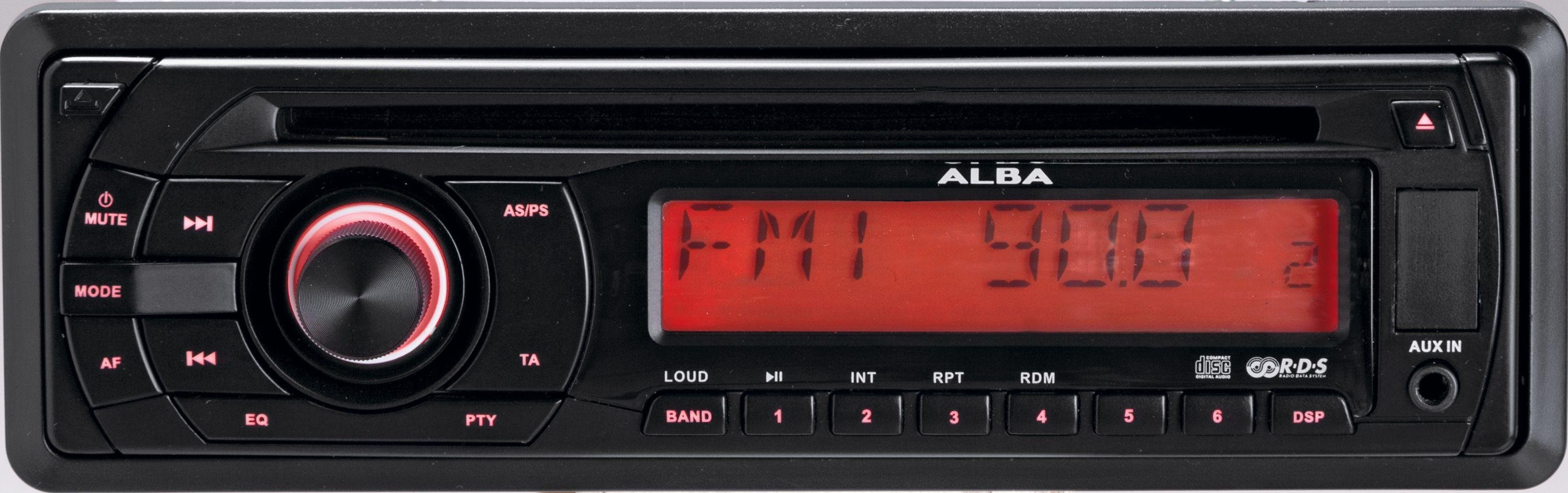 Image of Alba - ICS105 - Car Stereo with CD Player