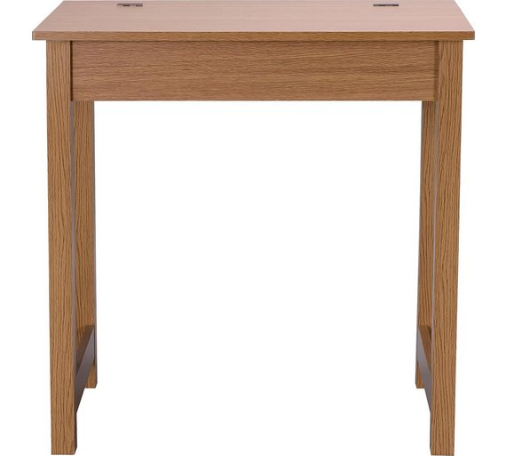 Buy HOME Denbigh Office Desk - Oak Effect at Argos.co.uk - Your ...