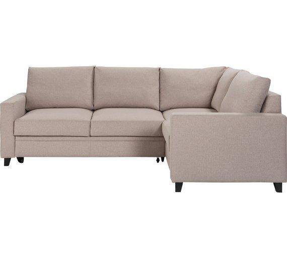 Buy Hygena Seattle Regular Right Hand Corner Sofa Bed
