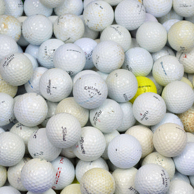 100 Hit Away Practice - Golf Lake Balls in a Box