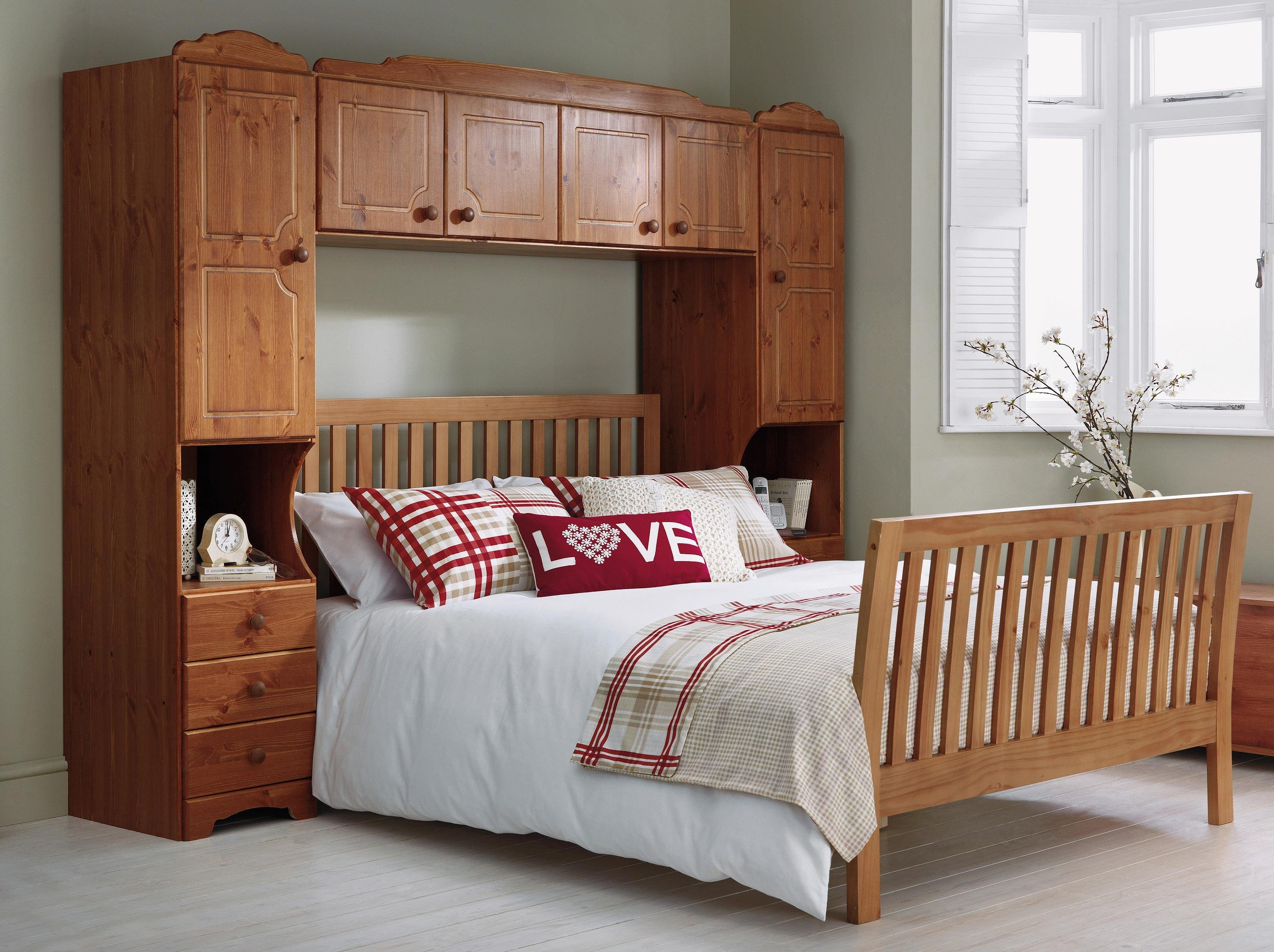 buy home nordic overbed fitment - pine at argos.co.uk - your