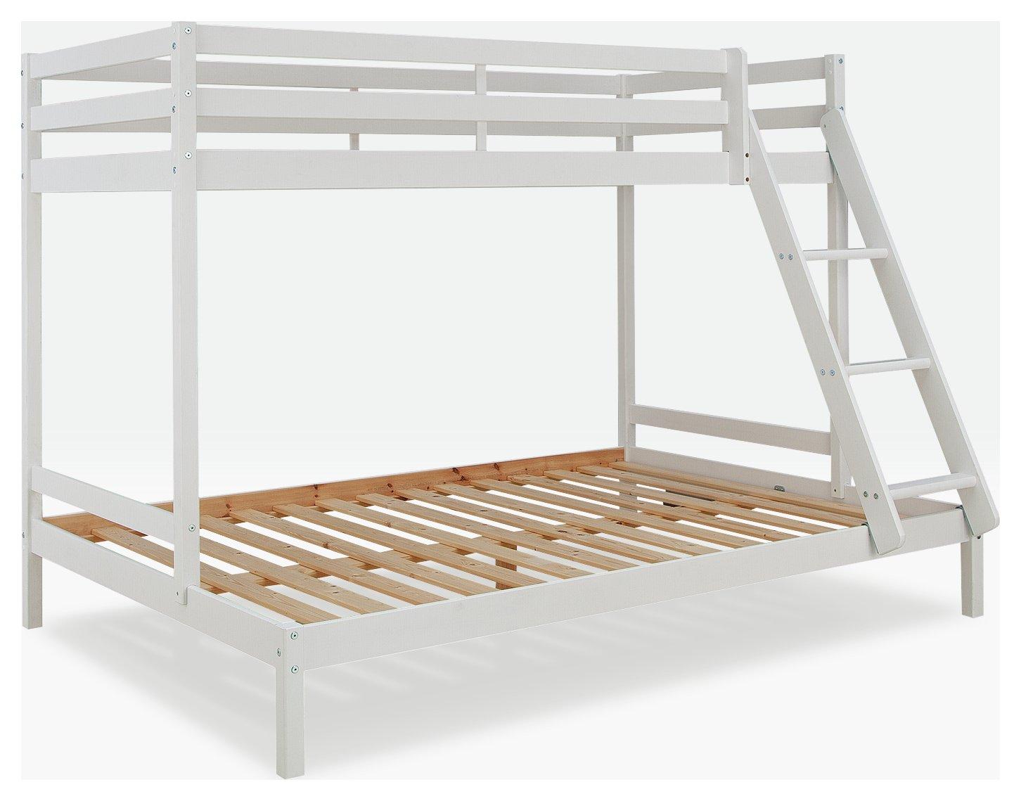 Argos Home Kaycie White Triple Bunk Bed Frame