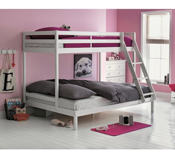 Buy Home Single And Double Bunk Bed Frame White At Argos