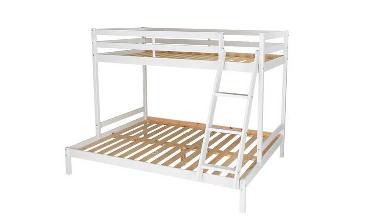 Buy Argos Home Kaycie Triple Bunk Bed Frame White Kids Beds Argos